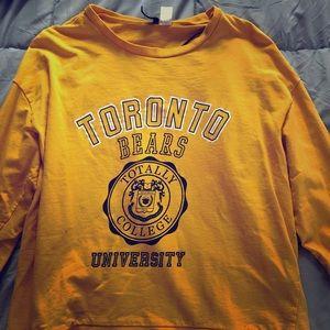 Yellow Toronto Bears University Shirt